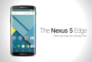 Nexus 5 edge Concept Art by TheFreal