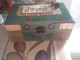 Decorated box. by Laurel89