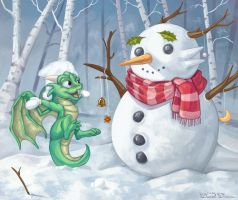 Snowtime Happiness by Daniel-Daimon