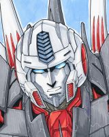 Jetfire sketch by markerguru