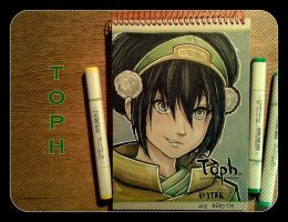 My Toph from 'Avatar' fanart by NeroTM
