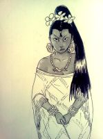 random sketch by Kamazotz