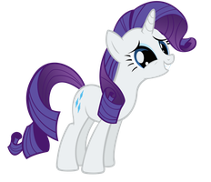 Rarity, Pleeease Spike? by SpikesMustache