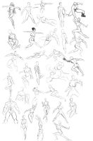 Many poses using Pose Master by discipleneil777