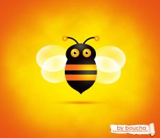BEE_ICON_BY_BOUCHA by boucha-designer