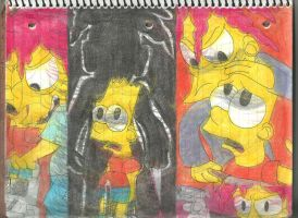 Simpsons Horror Movie Poster Parodies 1 by RozStaw57
