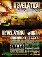 REVELATION flyer by leviathen