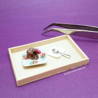 Miniature Lava Cake by SmallCreationsByMel