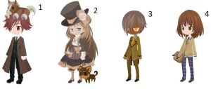 Brown Theme Free Adopts [CLOSED] by Vladimir-Valentine