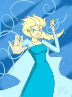 Elsa by KnoppGraphics