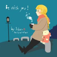20131220-Be with you! by ycartoonist