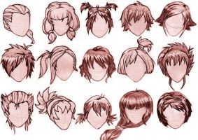 Hairstyles by s-traszydlo