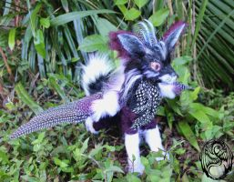 Iris - Handmade Poseable Collaboration Creation by SonsationalCreations