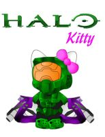 Halo Kitty by Jynx-kun