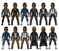 Nick Fury Director of S.H.I.E.L.D. by dudebrah