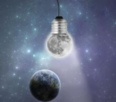moon bulb by mohammad1214