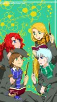Magic Hogwarts!AU by MugenMusouka