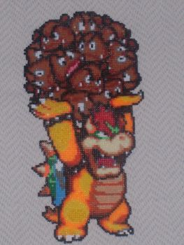 Bowser with Hama Beads by javICO