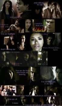 Everything: bamon AND stelena by ViolaSerpeverde