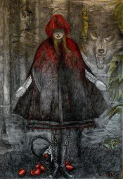 Red Riding Hood. by CelesteGomezArts