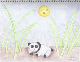 Sleeping Panda {Finished} by creativlilthing