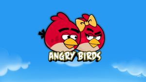 angrybirds diy wallpaper by kience