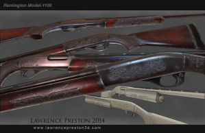Remington Model-1100 by LPreston