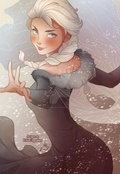 Elsa by EllieCupcakesArt