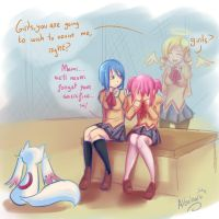 True friends revive each other Madoka by Albaharu