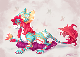 butterfly kisses by Sapphu-Adopts