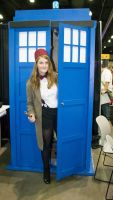 CK12-Fem 13th and the TARDIS by moonymonster