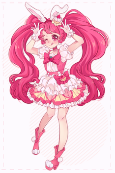 [ Precure ] Cure Whip by NikkiLotte