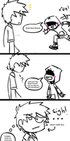 THIS COMIC IS KINDA GAY by DragonRider13025