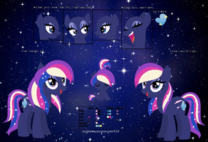Moona Shimmer ref by SugarMoonPonyArtist