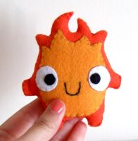 Calcifer plushie by yael360
