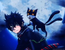 Ao No Exorcist: Enigma by solarwind06