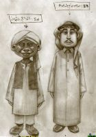 Saudi and Sudanese by lostmankind