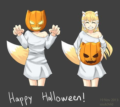 Happy Halloween by sidestreetsoul
