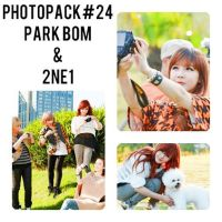 Photopack#24 Park Bom with 2NE1 by HanaBell1