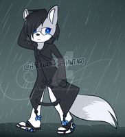 [1/2] Rain's your only friend, my man. [Blutel] by miulk