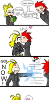 Axel's got a gift by Electrovee