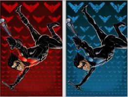 Nightwing Prints New52 and Classic by BrianAtkins