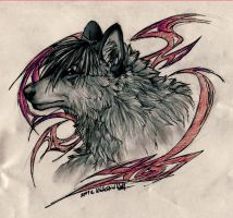 AT:Aleu-Light::Mirakel by WhiteSpiritWolf