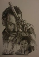 The Walking Dead- Rick and Daryl by W4RNEVERCHANGES