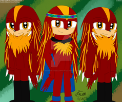 Echidna Kings by ReverseTheEclipse