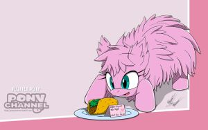 Channel Sketch: Fluffle Puff by Fuzon-S