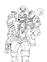 Marine Orc by SpikeValance