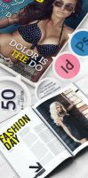 Magazine For Indesign - Photoshop A4 and Letter by RadomirGeorgiev