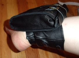 Ankle pouch by damnitsasha