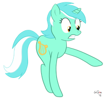 Lyra Sees A Spider by CatIron